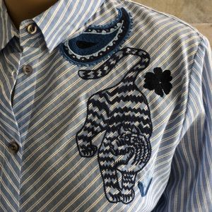 Desigual Tops - Desigual Embroidered detailed shirt